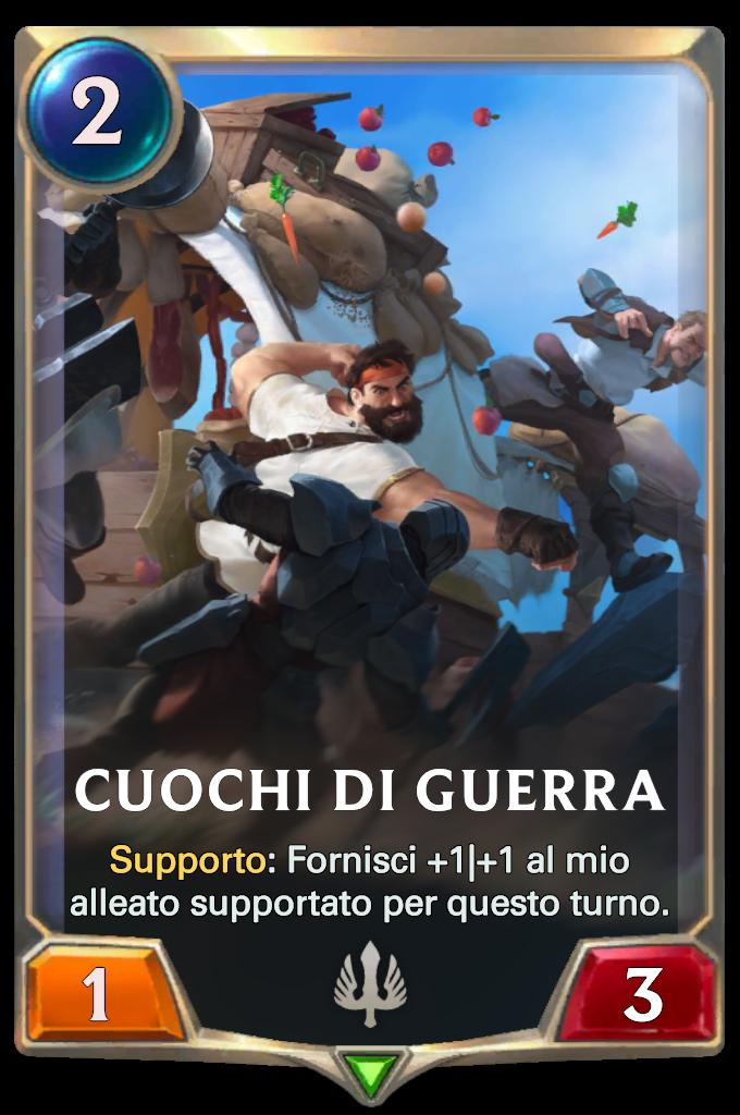 Legends of Runeterra Cuochi di guerra