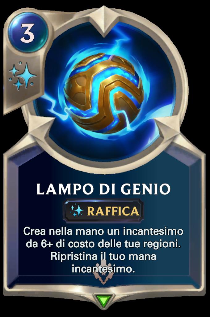 Legends of Runeterra Lampo di genio