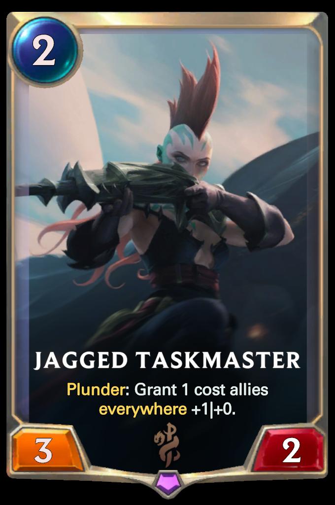 Jagged Taskmaster