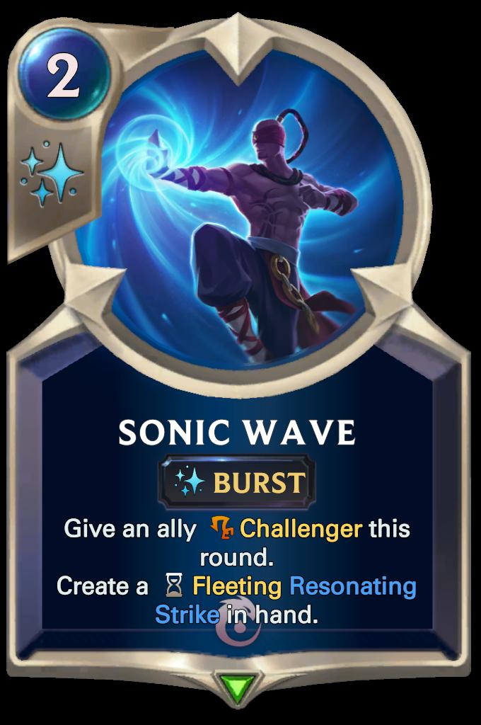 Lee Sin's Sonic Wave
