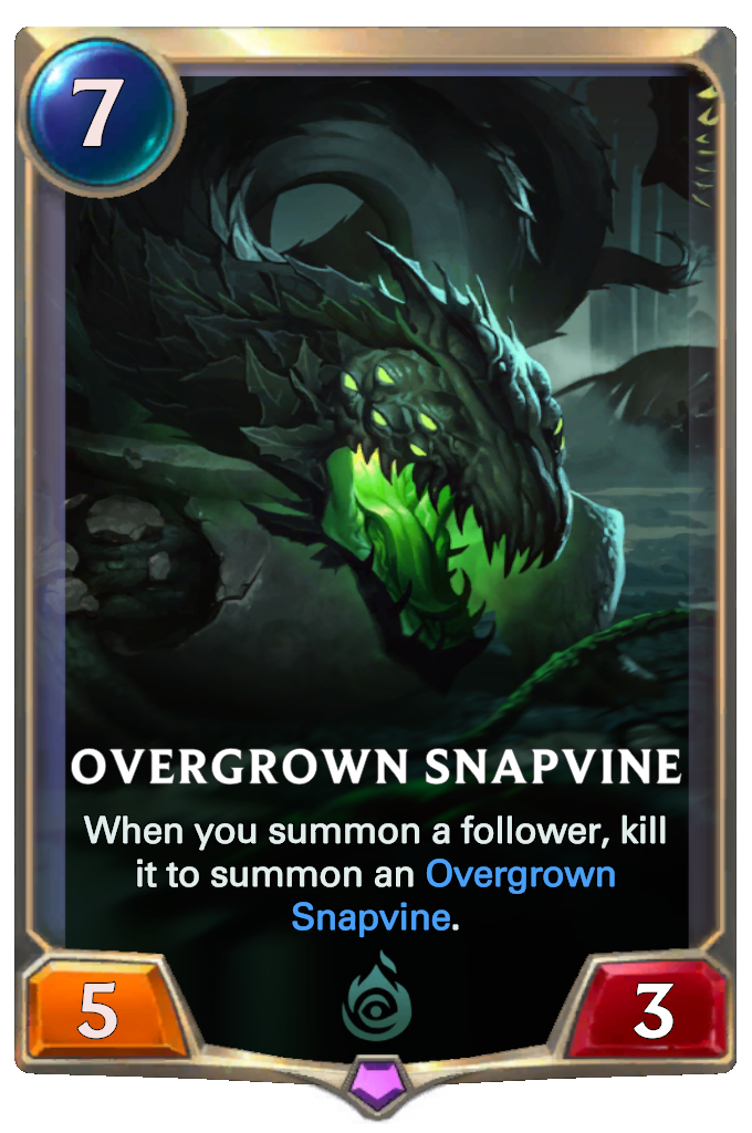 Overgrown Snapvine