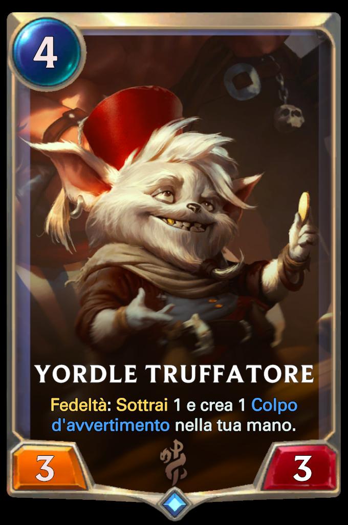 Legends of Runeterra Yordle Truffatore
