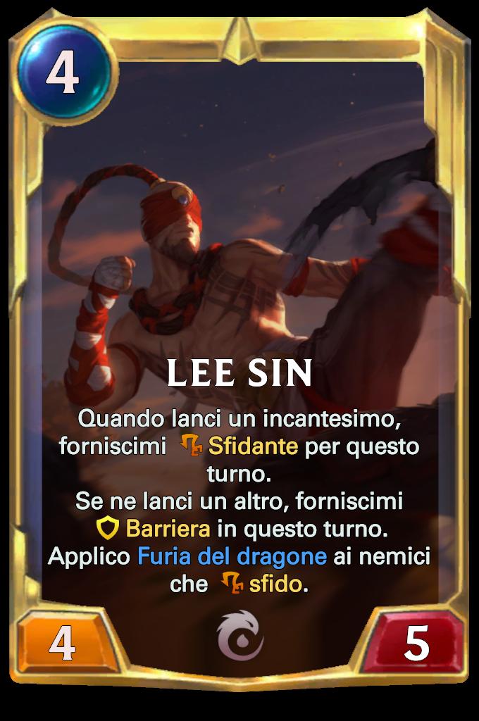 Legends of Runeterra Lee Sin lv2