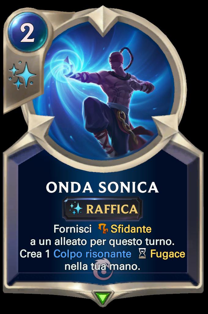 Legends of Runeterra Onda sonica di Lee Sin