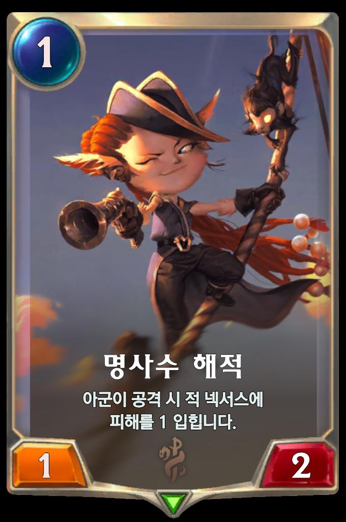 명사수 해적