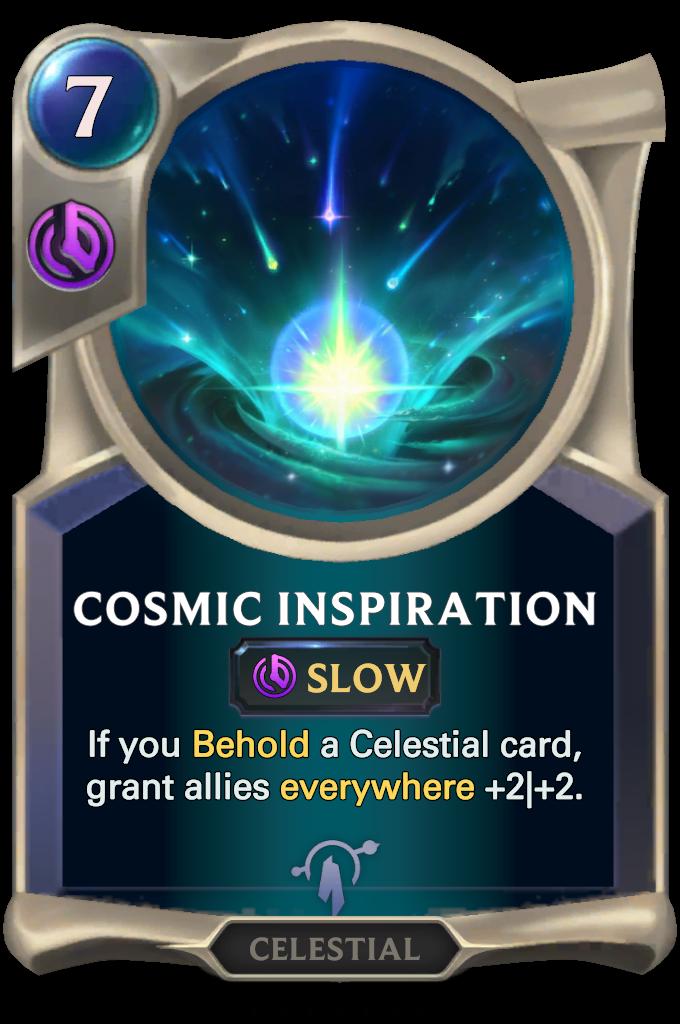 Inspiración Cósmica