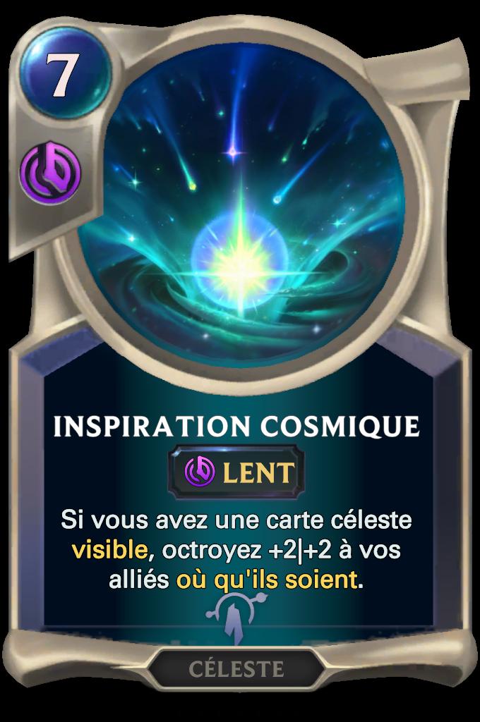 Inspiration cosmique