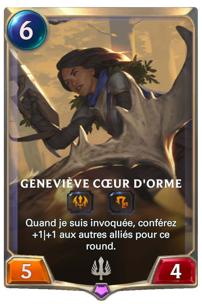 Geneviève Cœur d'orme