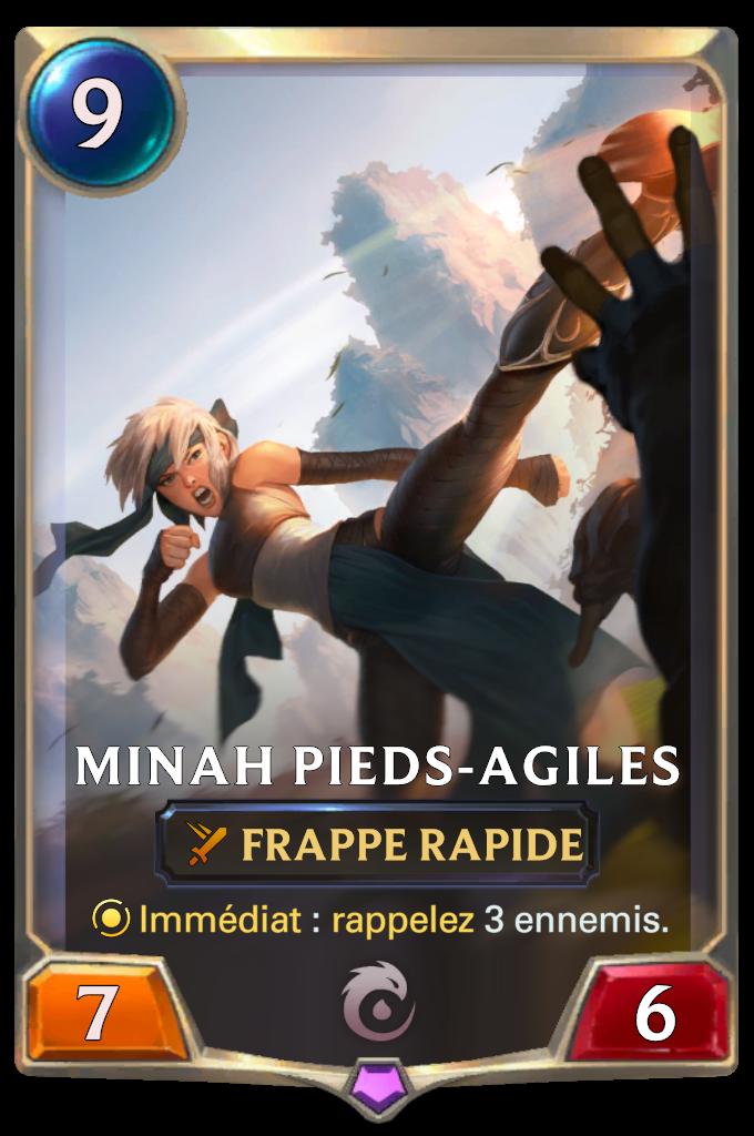 Minah Pieds-Agiles