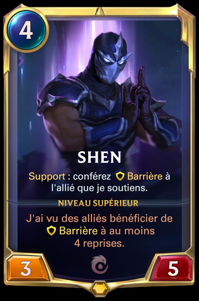 Shen (niveau 1)