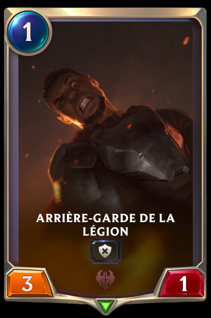Arrière-garde de la Légion
