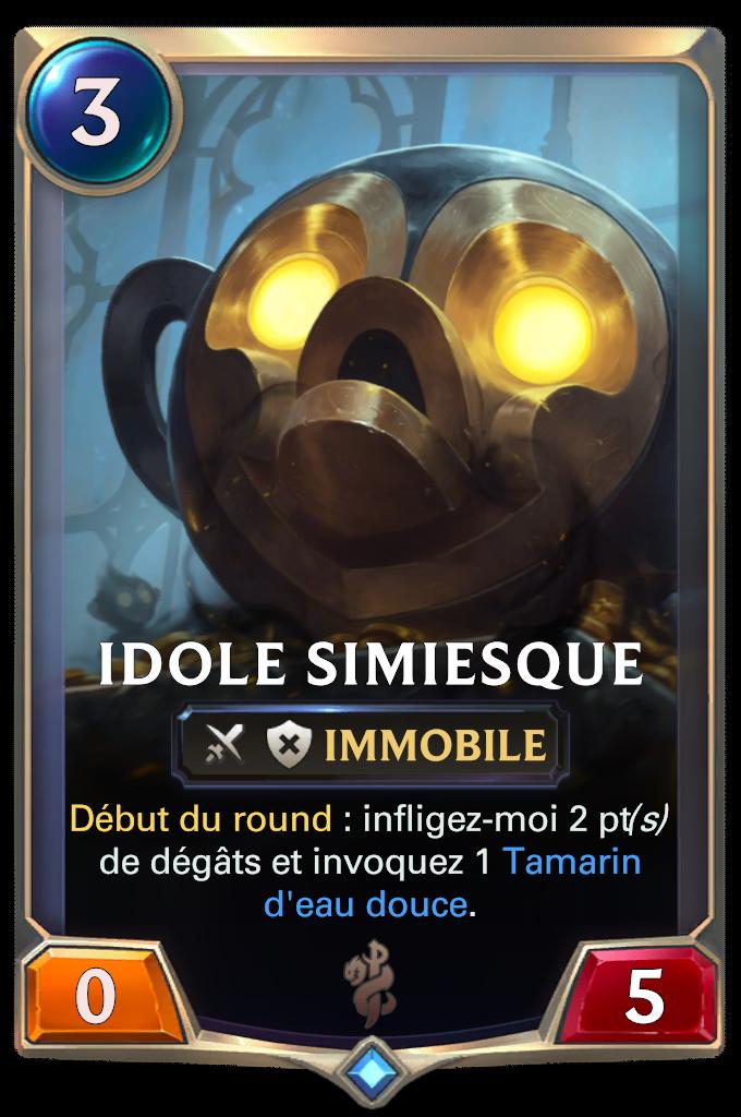 Idole simiesque