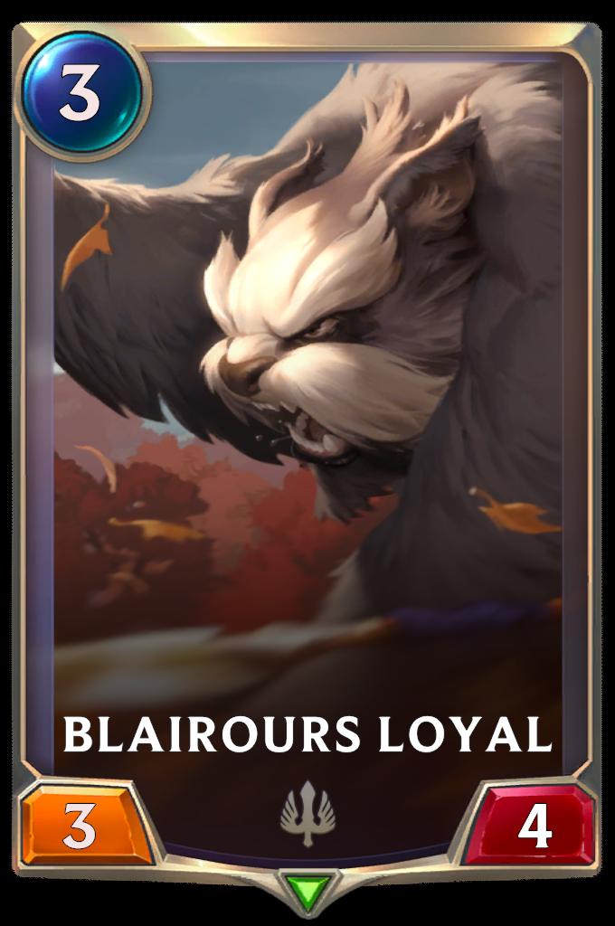 Blairours loyal
