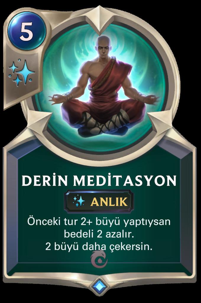 Derin Meditasyon