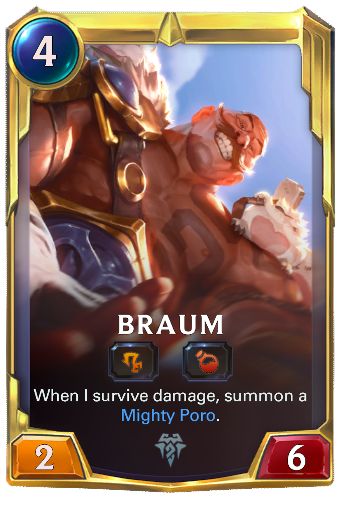 Braum (level 2)