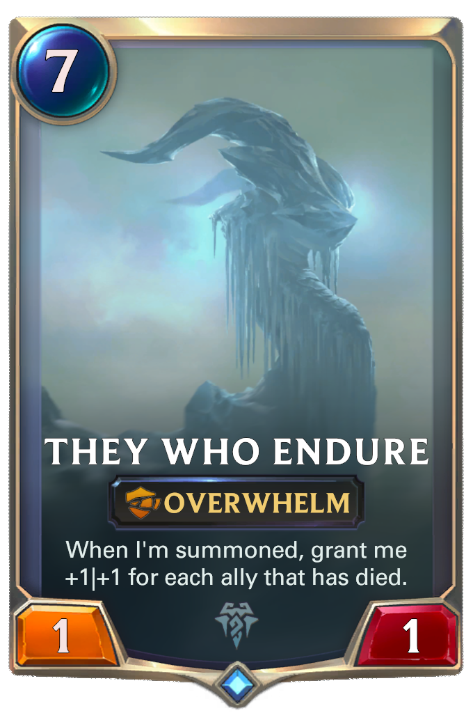 They Who Endure