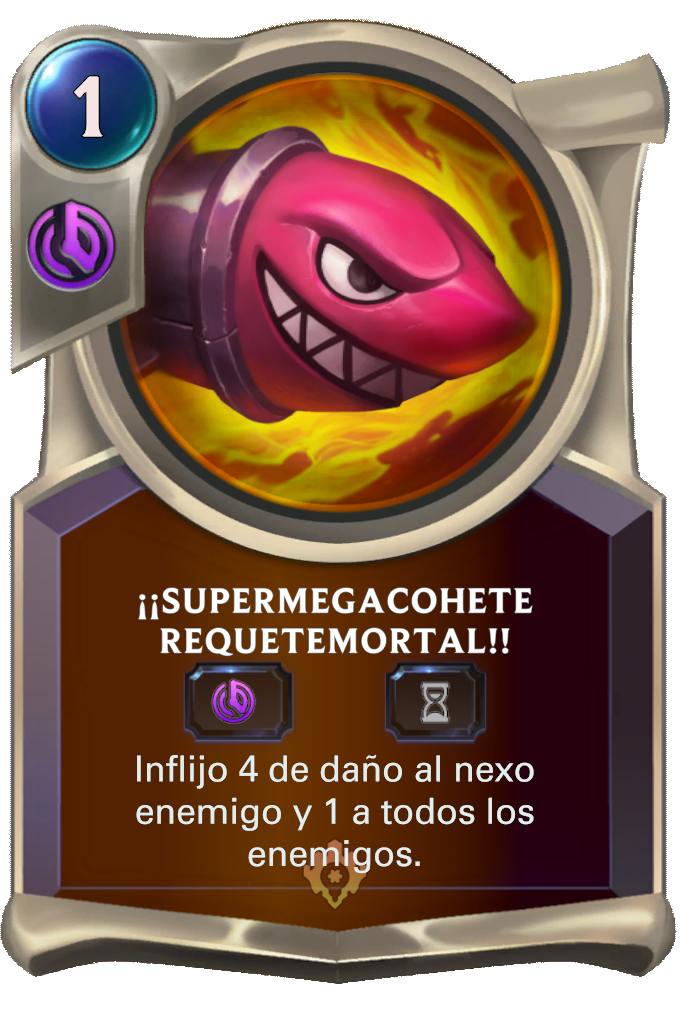¡¡Supermegacohete Requetemortal!!