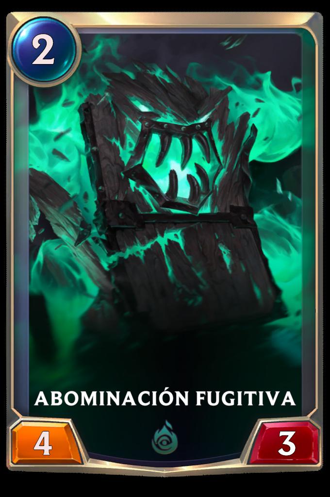 Abominación Fugitiva