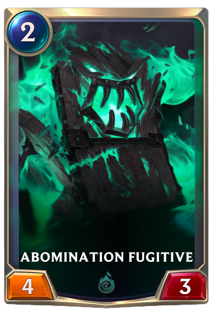 Abomination fugitive