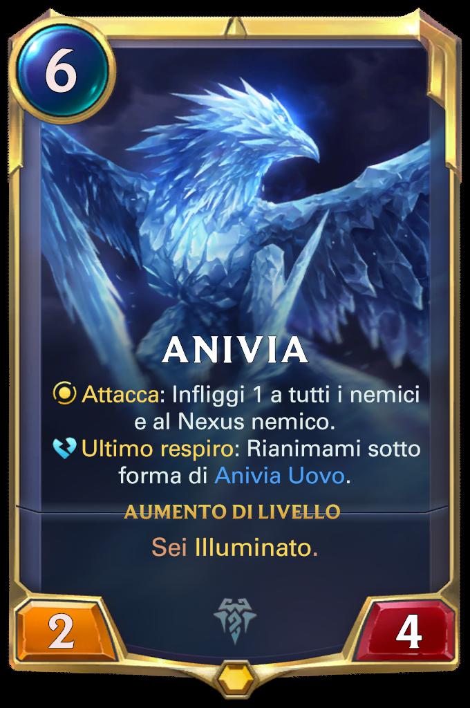 Legends of Runeterra patch Anivia