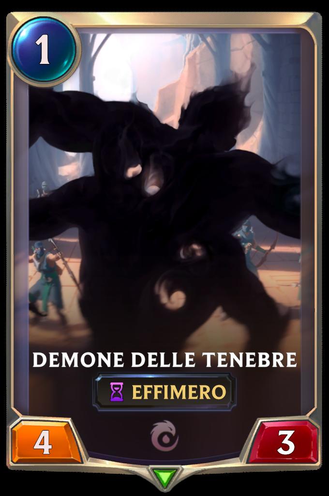 Legends of Runeterra patch Demone delle Tenebre