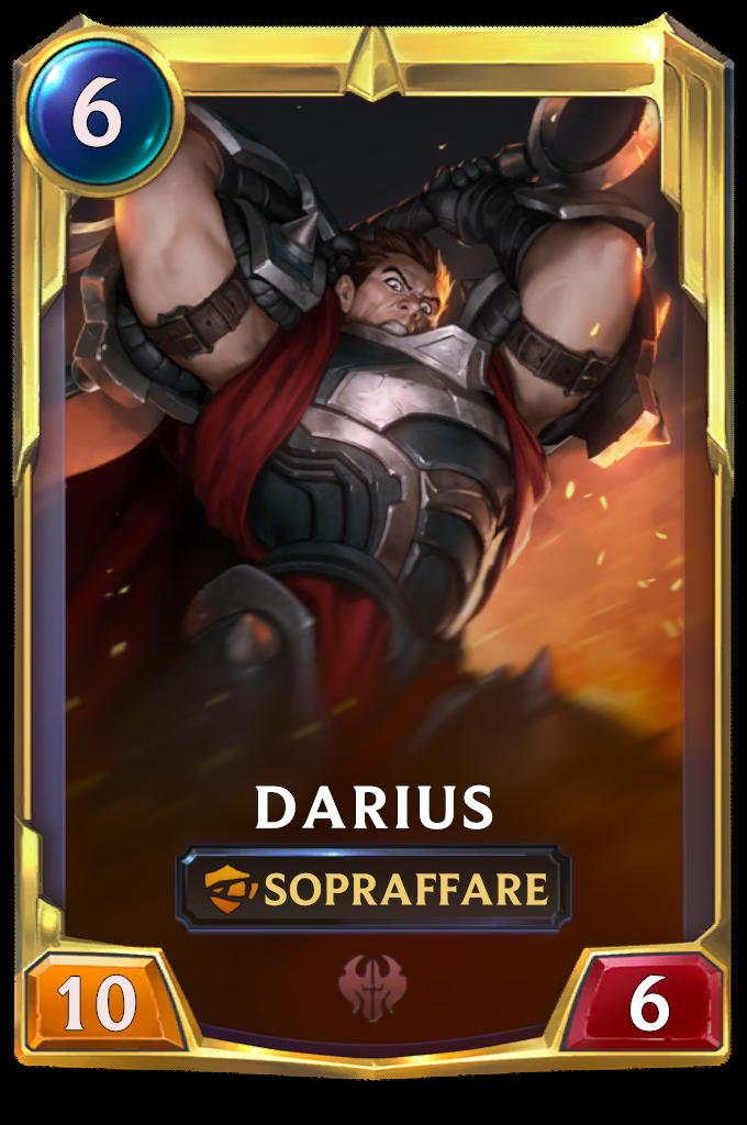 Legends of Runeterra patch Darius (livello 2)