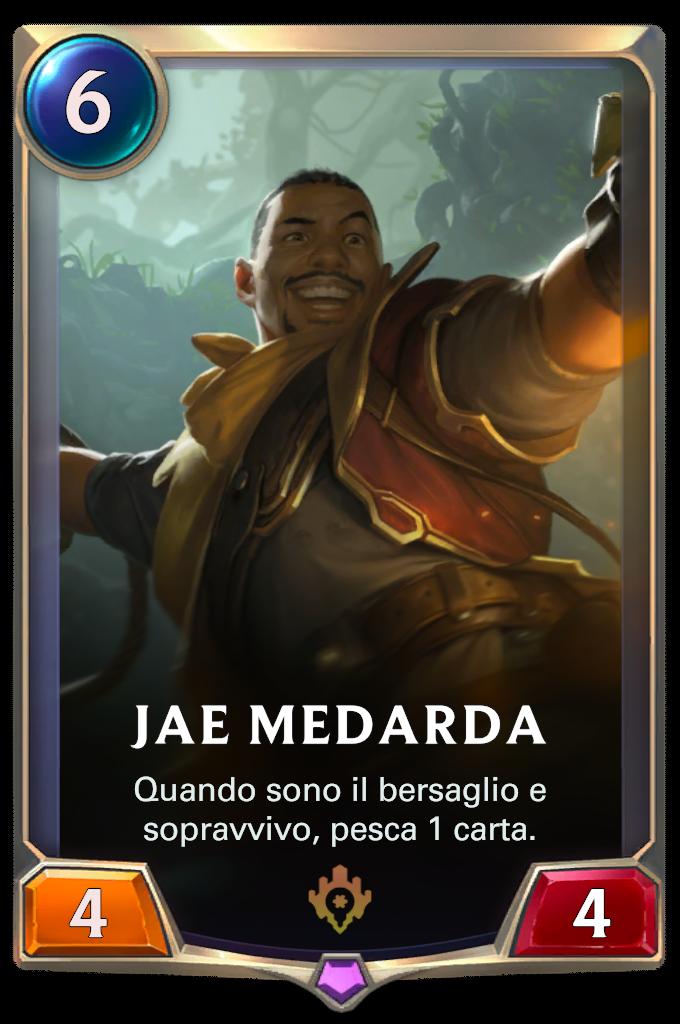 Legends of Runeterra patch Jae Medarda