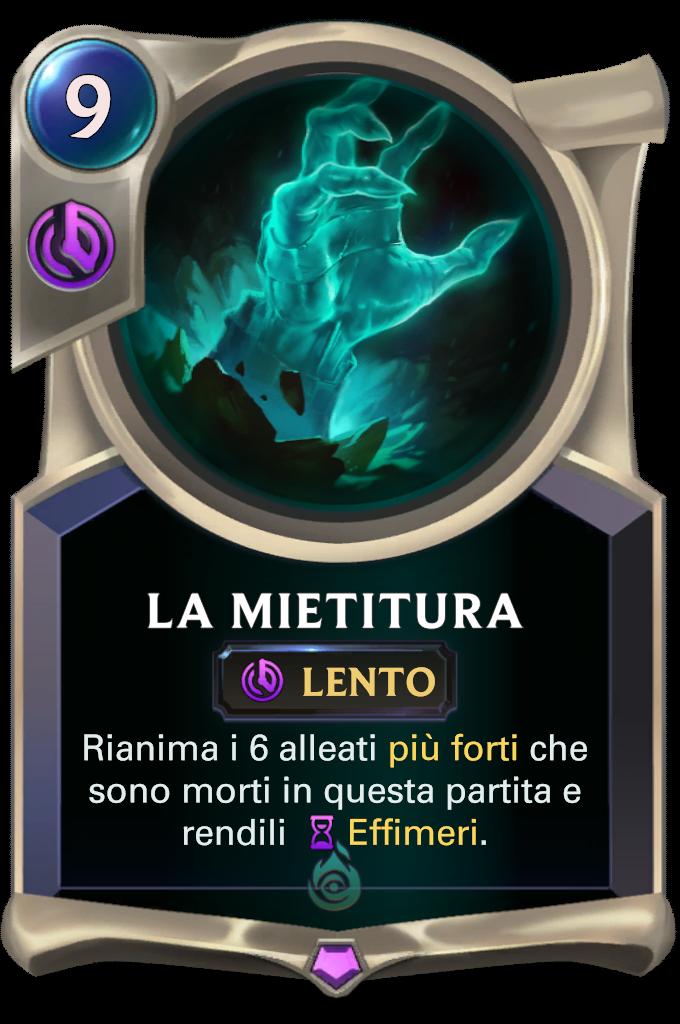 Legends of Runeterra patch La Mietitura