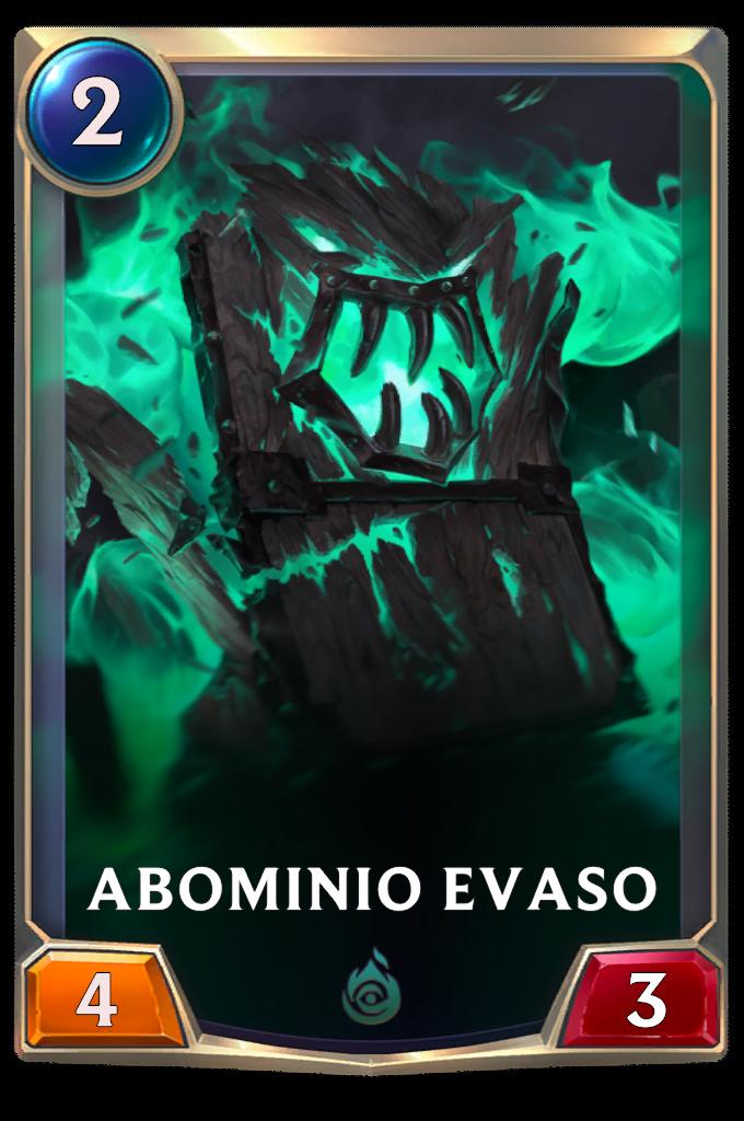 Legends of Runeterra patch Abominio evaso