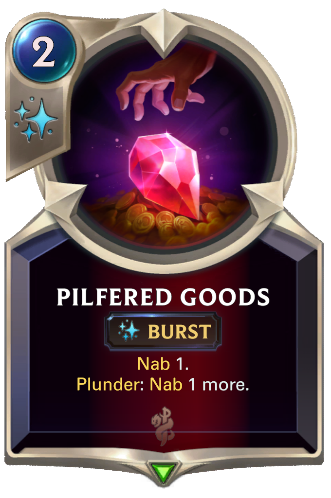 Pilfered Goods