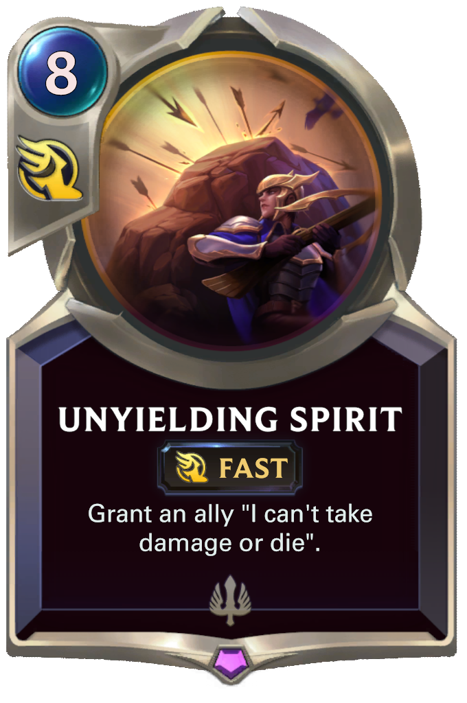 Unyielding Spirit