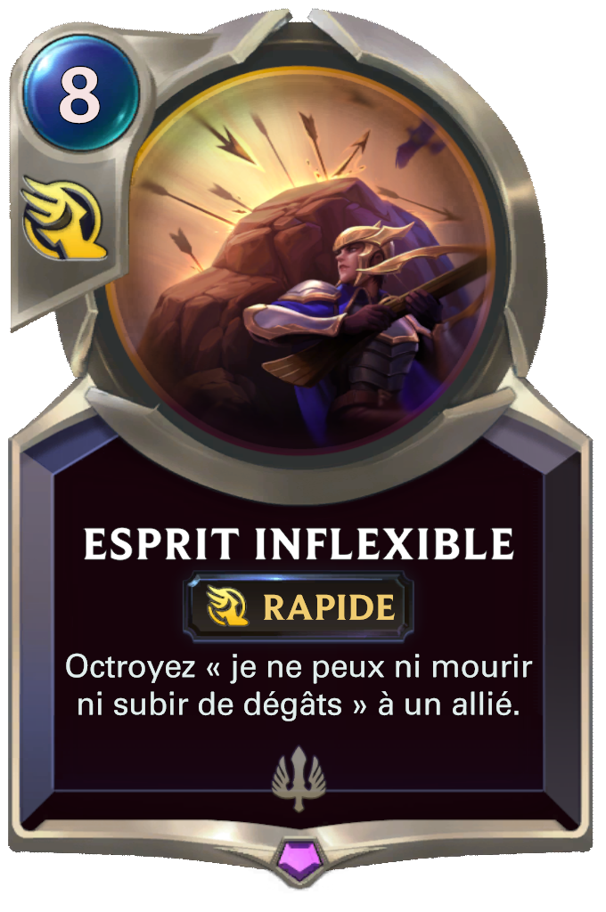 Esprit inflexible