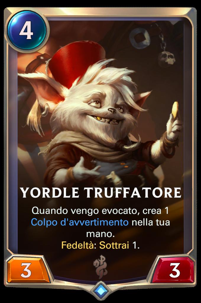 Legends of Runeterra patch Yordle Truffatore