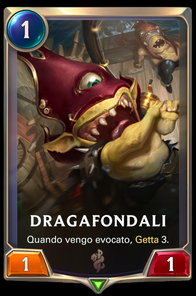 Legends of Runeterra patch Dragafondali
