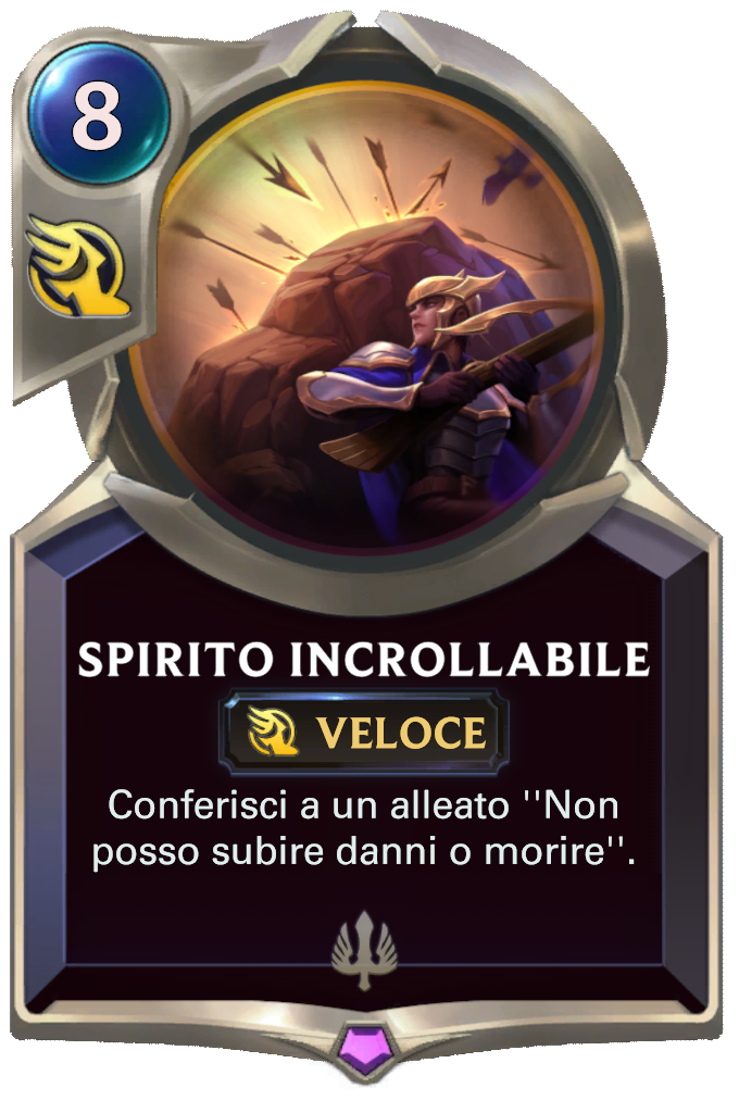 Legends of Runeterra patch Spirito incrollabile