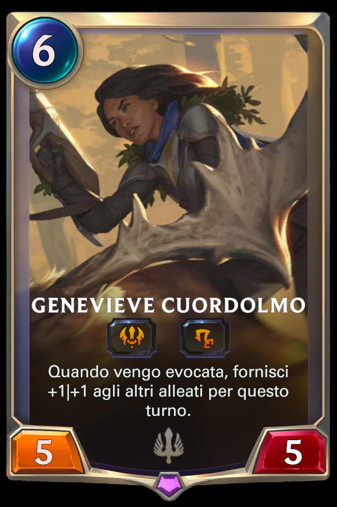 Legends of Runeterra patch Genevieve Cuordolmo