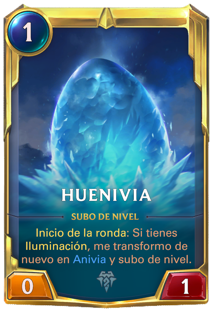 Huenivia (forma de huevo de Anivia)