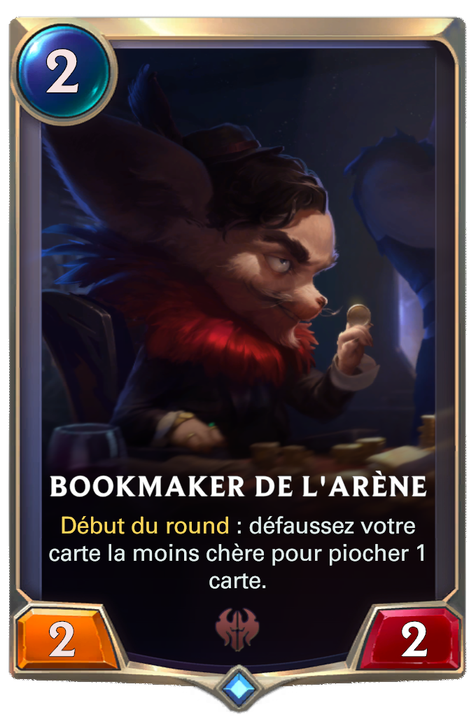 Bookmaker de l'arène