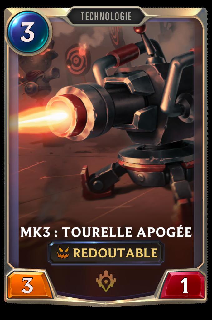 Mk3 :  Tourelle Apogée
