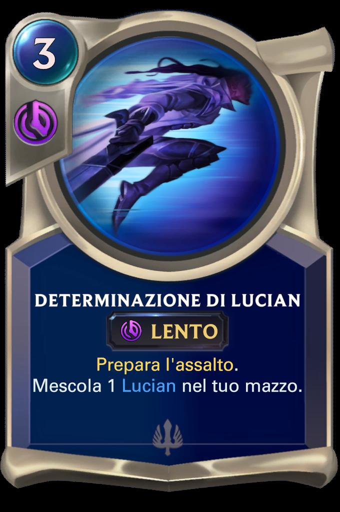 Determinazione di Lucian