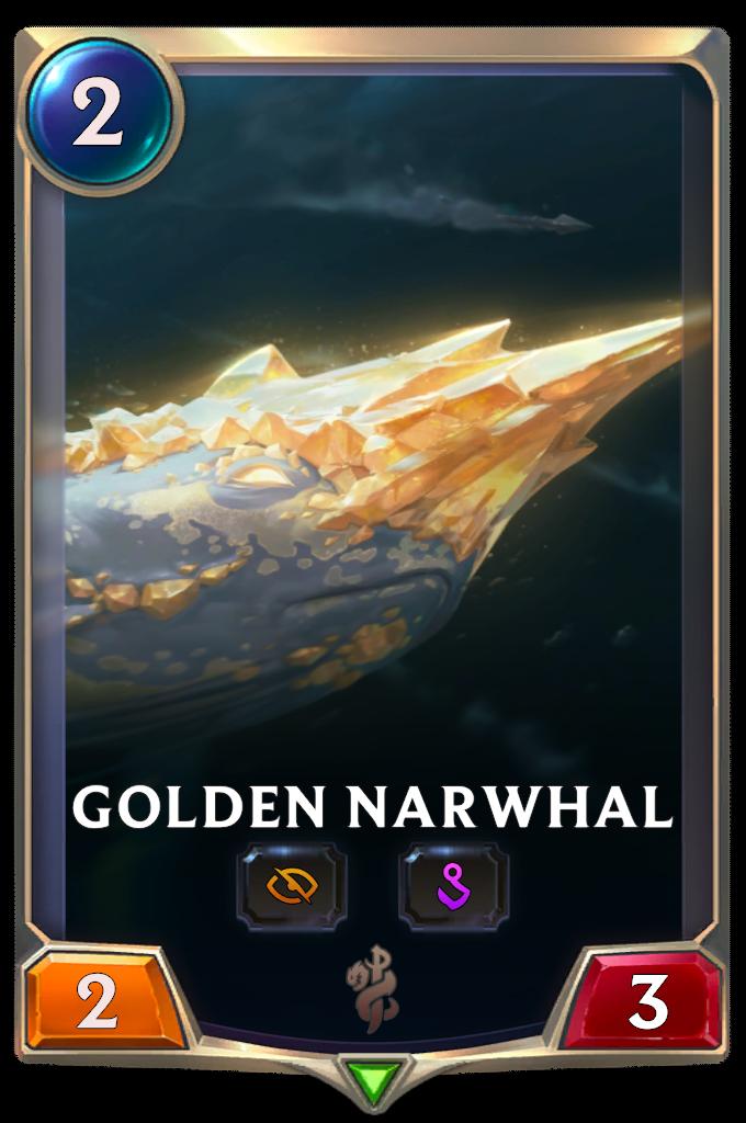 Golden Narwhal