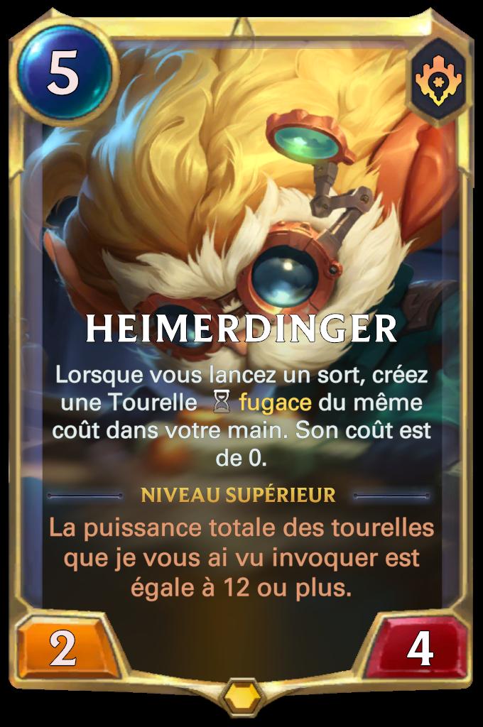 Heimerdinger (niveau 1)