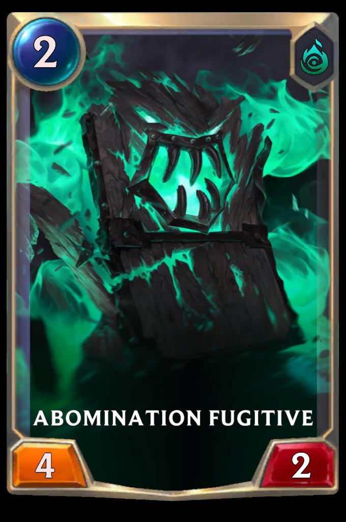 Abomination fugitive