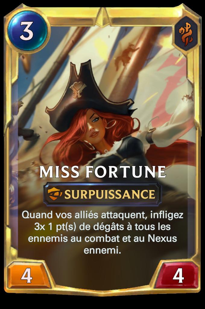 Miss Fortune (niveau 2)