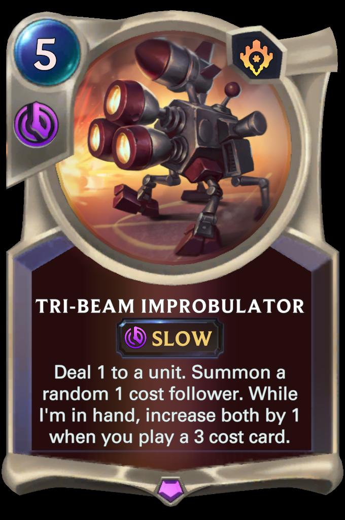 Tri-Beam Improbulator