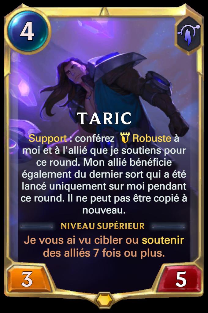 Taric (niveau 1)