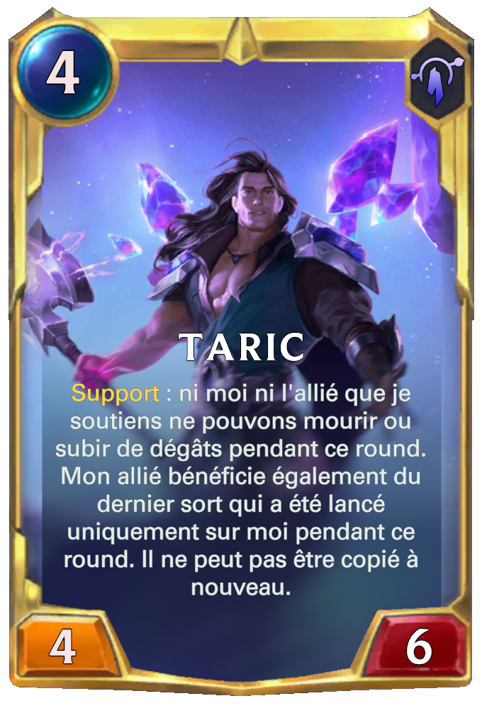 Taric (niveau 2)