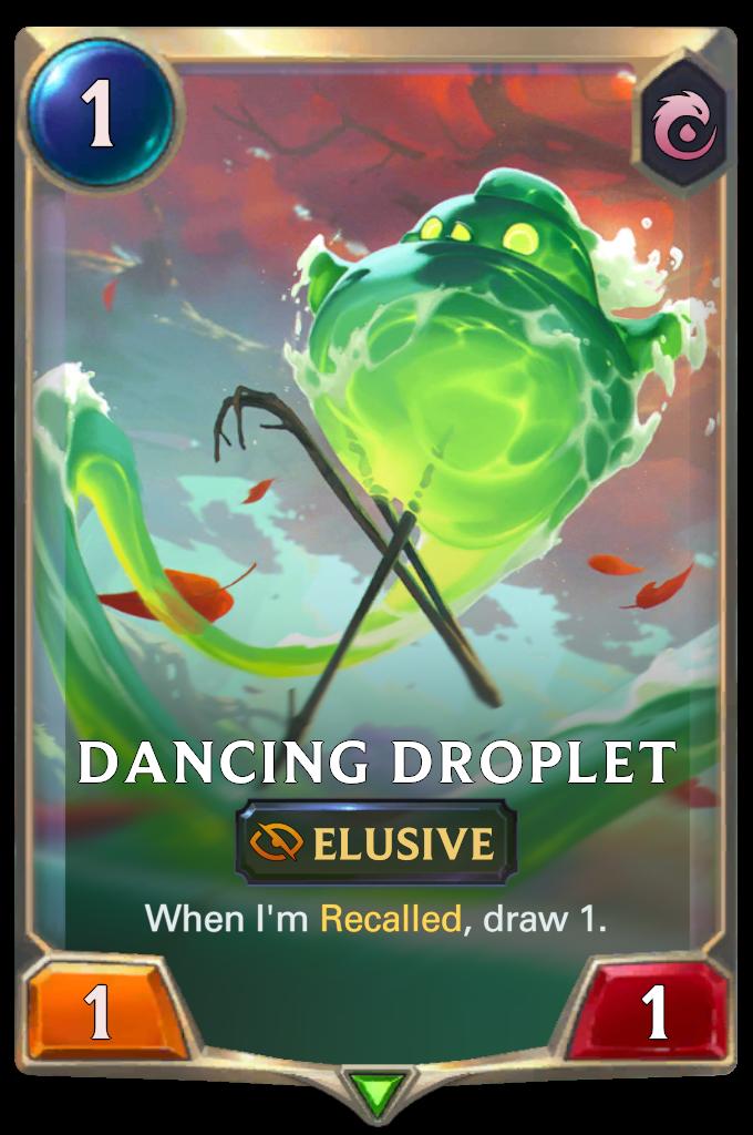 Dancing Droplet