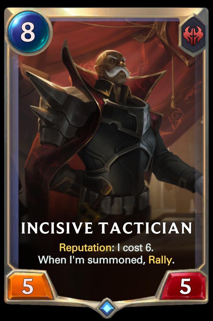 Incisive Tactician
