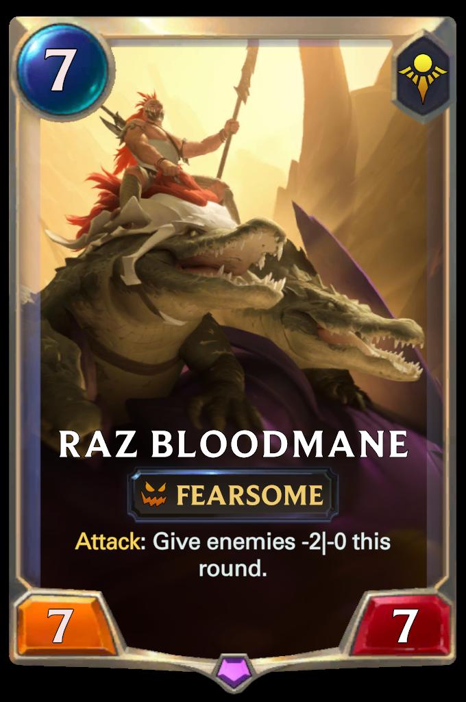 Raz Bloodmane